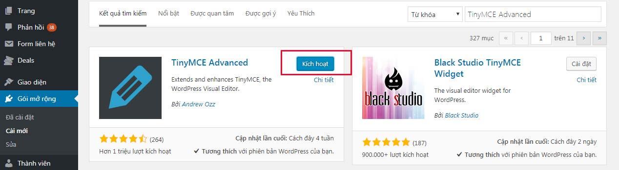 Hướng dẫn cài đặt Plugin cho Website WordPress