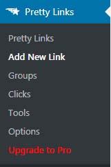 Hướng dẫn sử dụng plugin Pretty Link Lite làm đẹp link affiliate