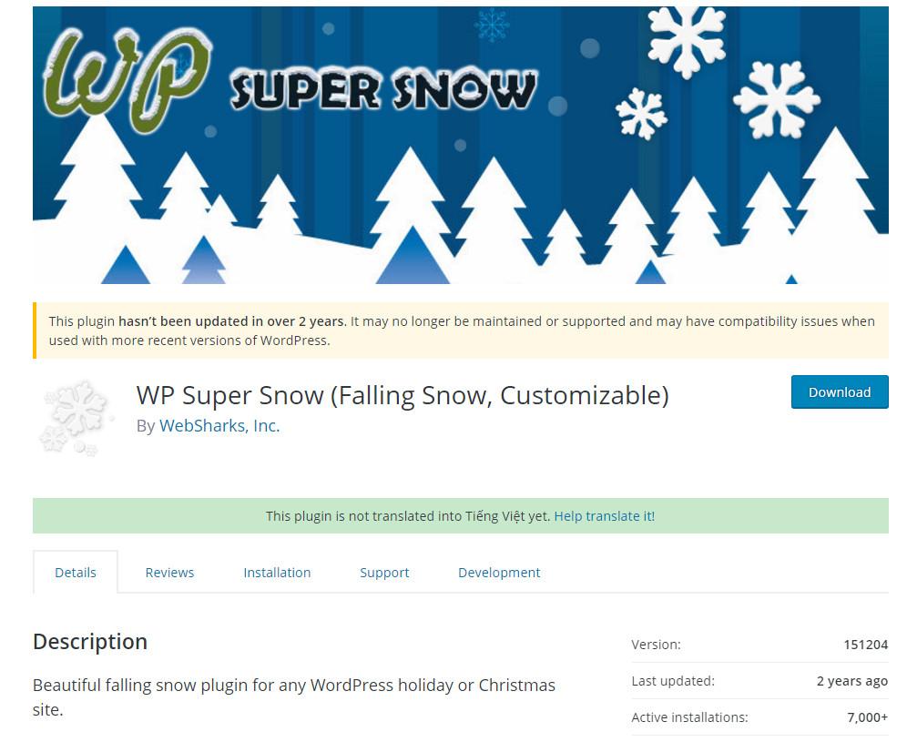 Hướng dẫn tạo ứng tuyết rơi vào blog WordPress của bạn!