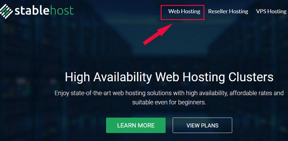 Hướng dẫn mua hosting tại Stablehost - Đánh giá Stablehost