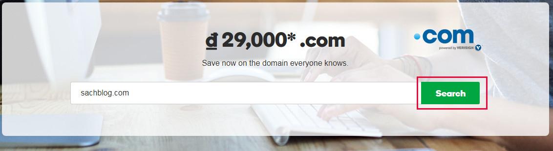 Hướng dẫn mua tên miền tại Godaddy chỉ với 29000 đồng một năm