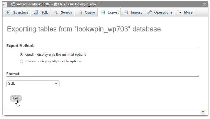 chuyển Host cho website wordpress