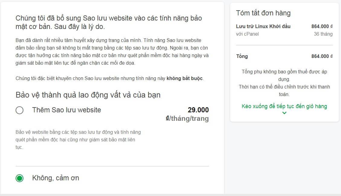 Godaddy mới có thêm gói hosting chỉ 24000 mỗi tháng
