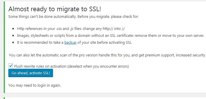 Kích hoạt và cài đặt giao thức SSL