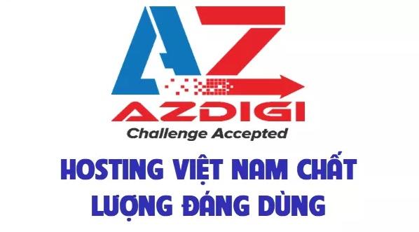 AZDIGI giảm giá toàn bộ dịch vụ Hosting