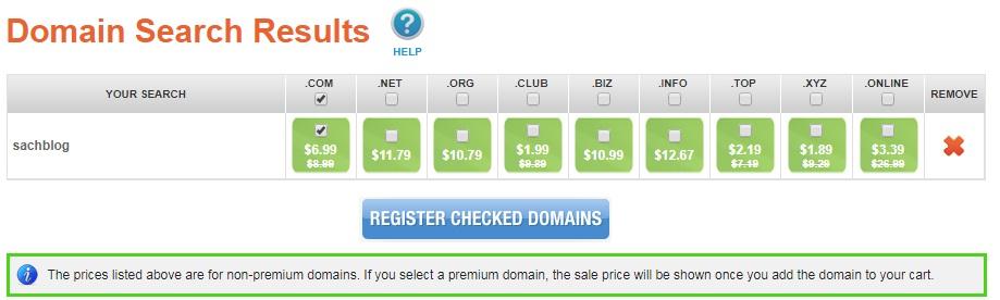 Hướng dẫn đăng ký tên miền tại NameSilo