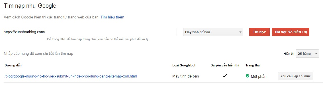 Google ngừng hỗ trợ việc submit URL