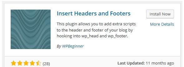 Hướng dẫn chèn code vào header và footer