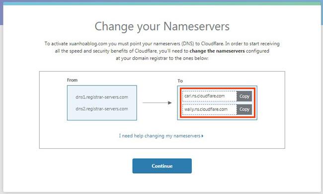 Hướng dẫn cài đặt CloudFlare để tăng tốc cho Website
