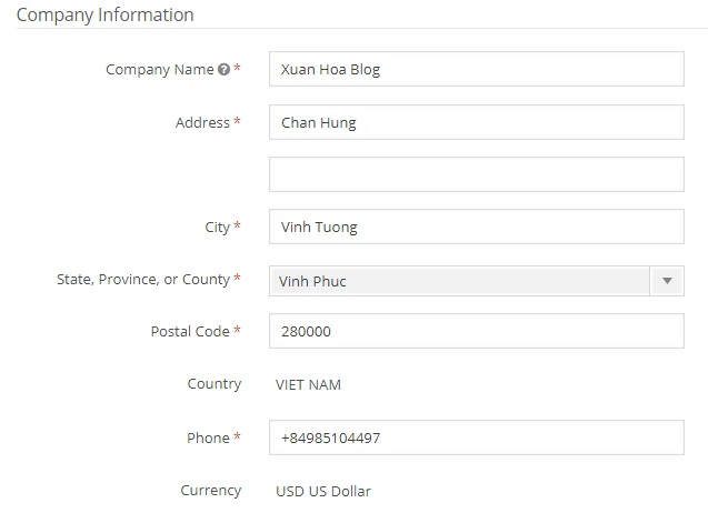 Hướng dẫn đăng ký affiliate với CJ
