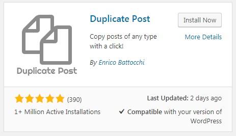 Nhân bản bài viết dùng Duplicate Post