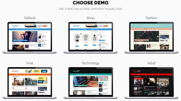 Theme Best của MyThemeShop