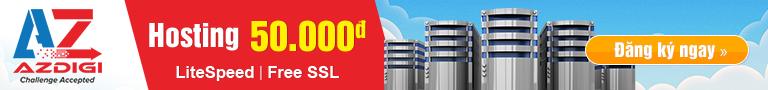 Hosting LiteSpeed SSD giá rẻ