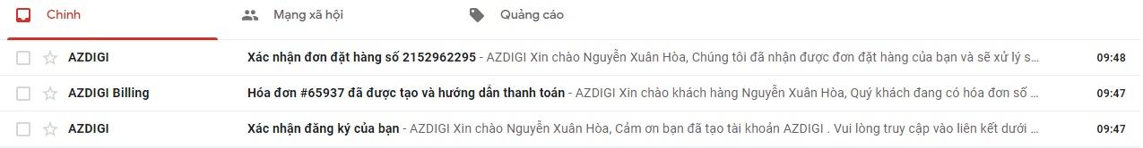Hướng dẫn đăng ký hosting AZDIGI