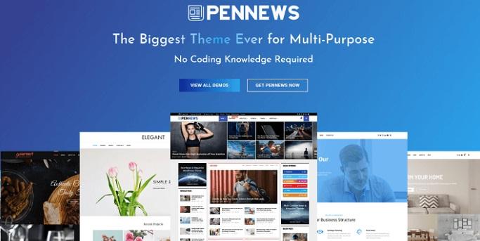 theme tin tức WordPress